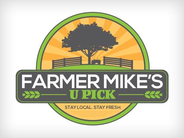 Farmer Mike's UPICK – Logo