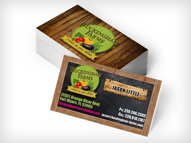 Buckingham Farms – Business Cards