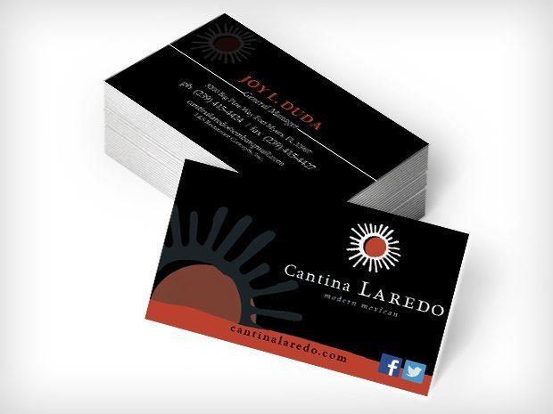 Cantina Laredo – Business Cards