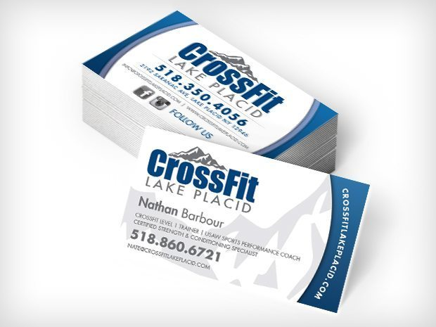 Crossfit Business Card