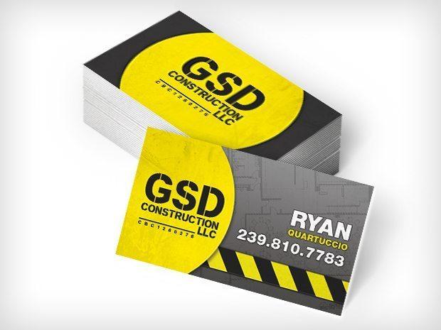 GSDConstruction – Biz Cards