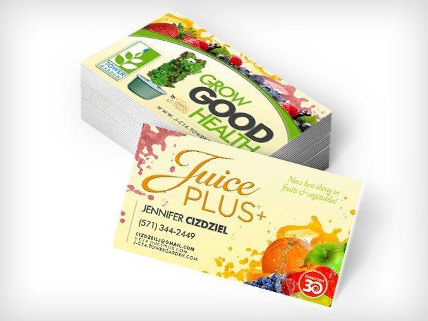 JuicePlus – Biz Cards