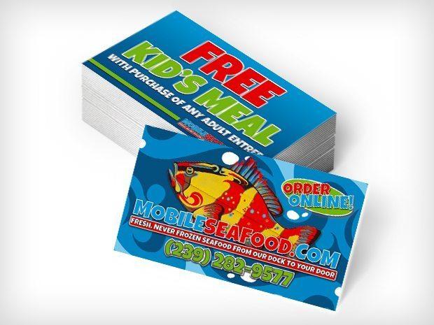 MobileSeafood - Biz Cards