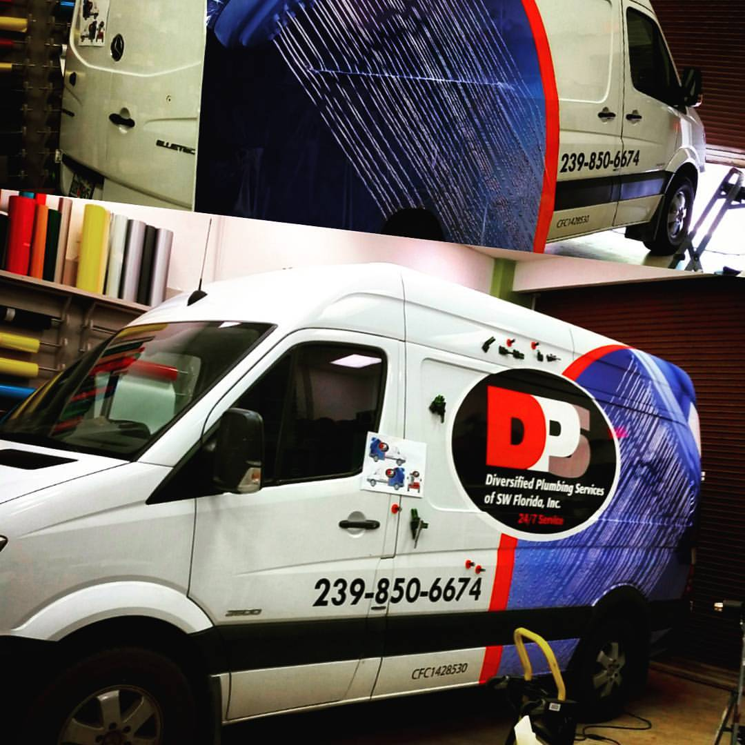 Diversified Plumbing of Fort Myers – Vehicle Wrap