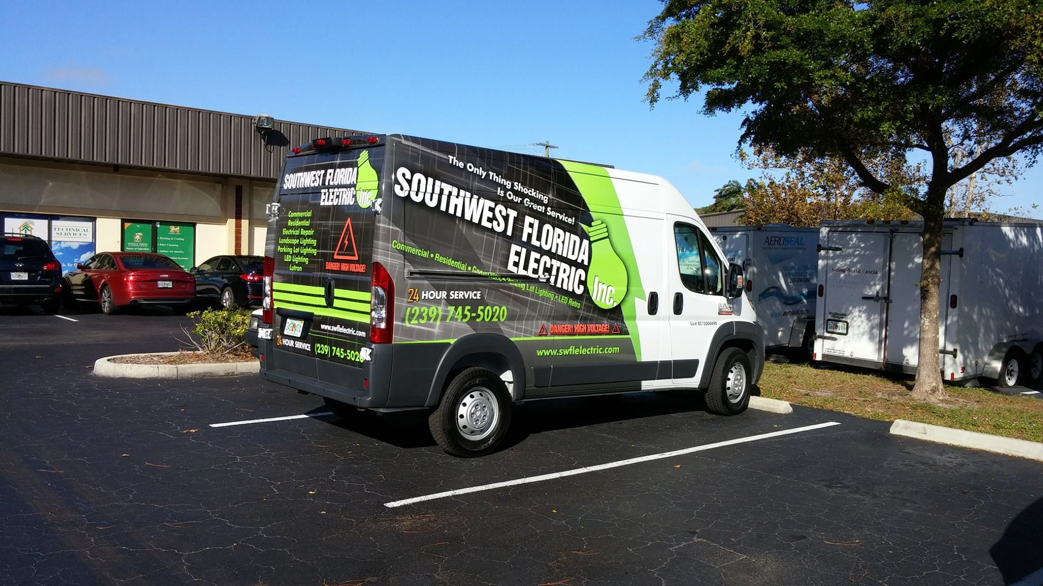 Southwest Florida Electric – Vehicle Wrap