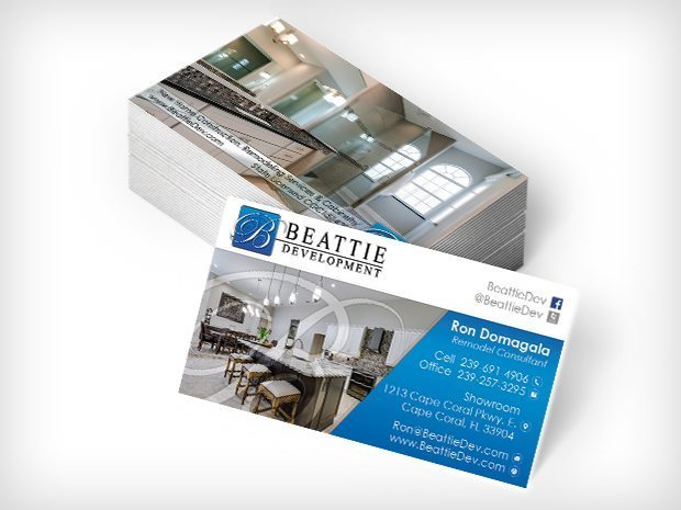 Beattie Development- Business Cards