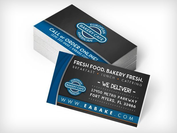 European American Bakery Cafe – Business Cards