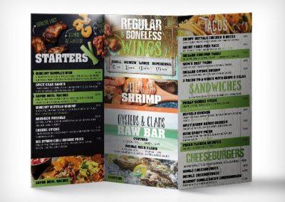 hurricane hideout menu
