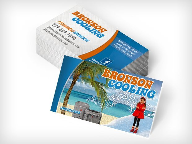 Bronson Cooling – Business Cards