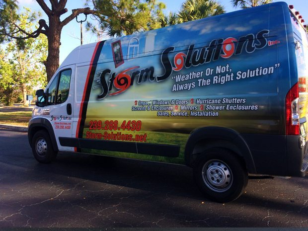 Storm Solutions – Vehicle Wrap