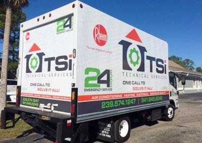 This Creative TSi Box Truck Wrap