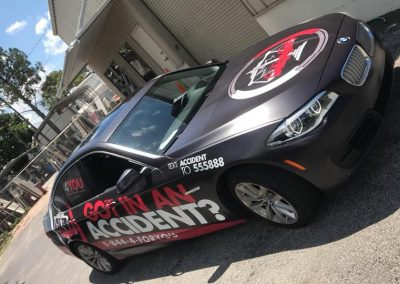 This Creative 4You Attorney Referral Vehicle Wrap