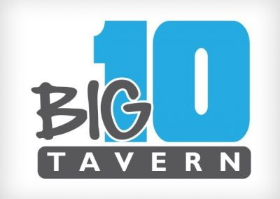 Big 10 Tavern Logo Design This Creative