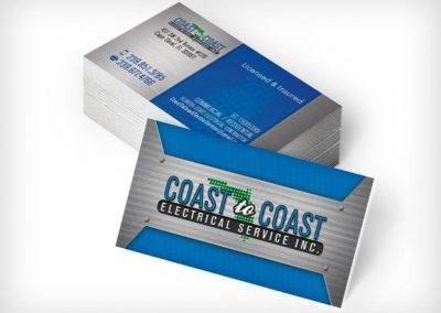This Creative Coast To Coast Business Cards