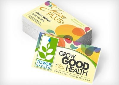 This Creative Juice Plus Business Cards