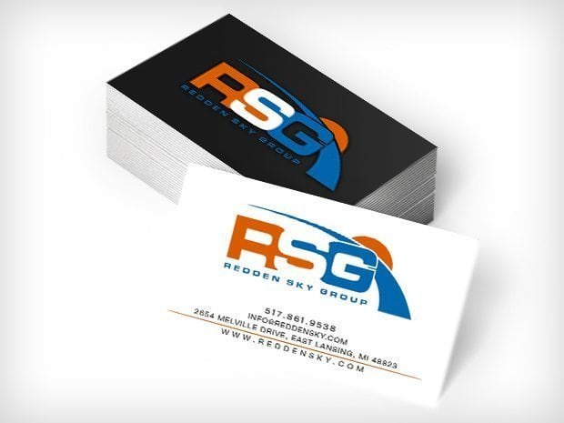 RSG Redden Sky Group Business Cards This Creative
