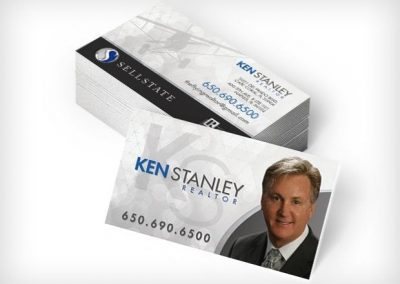 This Creative Ken Sellstate Business Cards