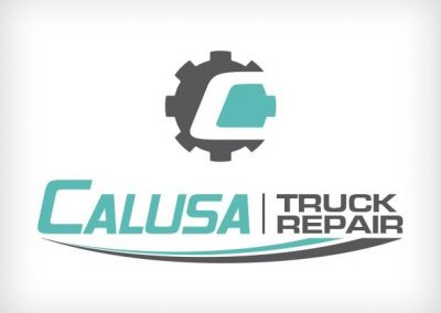 Calusa Truck Repair Logo Design This Creative