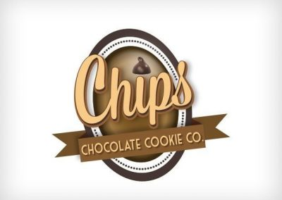 Chips Cookies Logo Design This Creative