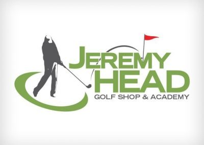Jeremy Head Golf Shop Logo Design This Creative