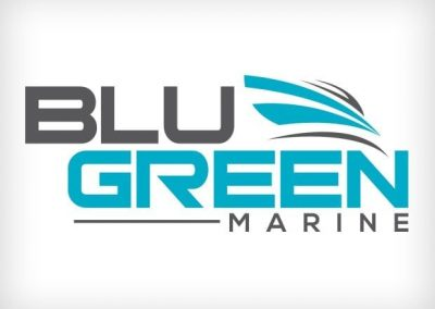 Blu Green Marine Logo Design This Creative