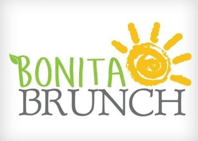 Bonita Brunch Logo Design This Creative