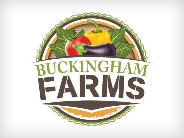 Buckingham Farms Logo Design This Creative