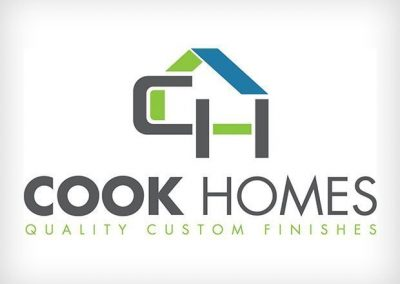 Cook Homes Logo Design This Creative