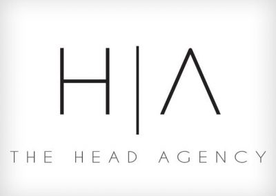 The Head Agency Logo Design This Creative