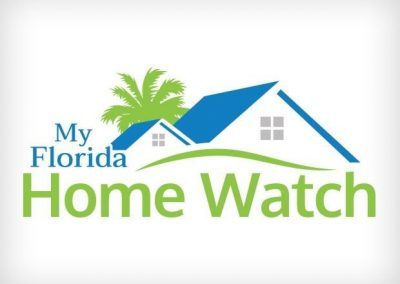 My Florida Home Watch Logo Design This Creative