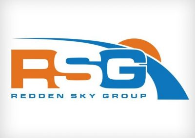 Redden Sky Group Logo Design This Creative