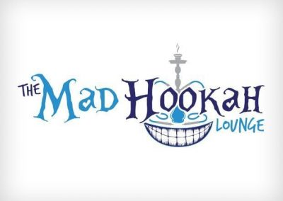 The Mad Hookah Lounge Logo Design This Creative